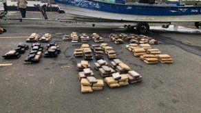 335 paquetes de una sustancia ilícita, todavía no determinada, fue incautada por agentes del Senan al sur de Punta Mala, en Los Santos.