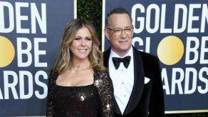 Tom Hanks y su esposa vuelven a EEUU tras contraer coronavirus
