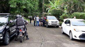 MP concluye recreación del homicidio de 7 jóvenes en Colón
