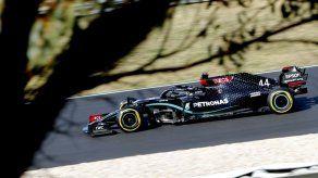 Hamilton le arrebata la pole de Portugal a Bottas
