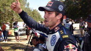 El francés Ogier se proclama campeón del mundo de rallies por tercera vez