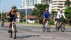 Amplían ciclovía hasta la Calzada de Amador a partir de este domingo