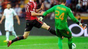 Italia: Milan supera a la Roma con doblete de Ibrahimovic