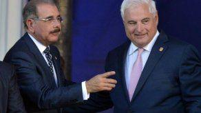 Martinelli recibe a Danilo Medina en marco de la Cumbre Iberoamericana