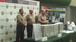 Policía incauta 8 millones de dólares falsos en Perú