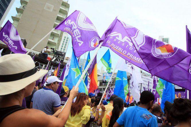 Cierre de campaña de Alianza el Pueblo Primero
