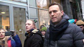 Navalni es detenido por la policía rusa al salir del dentista