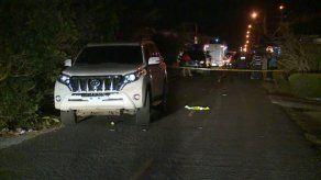Dos personas asesinadas de varios impactos de bala en Chitré
