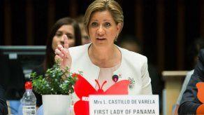 Primera Dama hace llamado a mayor inversión y cero discriminación en reunión de ONUSIDA