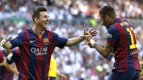 Neymar cree que la delantera del Barcelona es mejor que la del Real Madrid