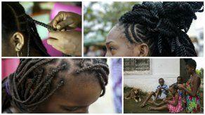 Afrocolombianas salvaguardan con sus peinados cultura ancestral palenquera