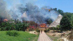 Incendio en comunidad Emberá consume cinco casas