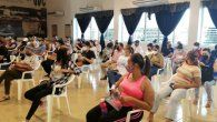 Para la jornada de vacunación en el circuito 6-1 en la provincia de Herrera fueron enviadas 27 mil dosis de la vacuna de Pfizer y habilitados 9 centros de vacunación.