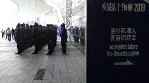 Canceladas las ruedas de prensa del juego NBA en Shanghái