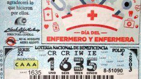 Lotería en el día del Enfermero y Enfermera