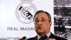 Florentino Pérez: Tenemos una plantilla espectacular imposible de mejorar