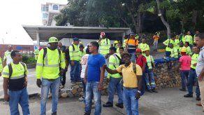 Obreros que construyen la Terminal de cruceros de Amador están en huelga