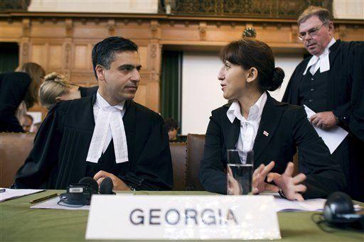 Georgia denuncia a Rusia ante la CIJ