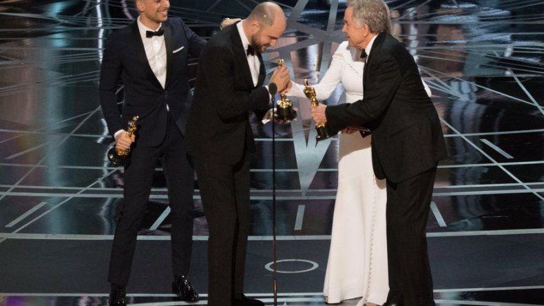 Oscar: Moonlight, y no La La Land, se alza como mejor película