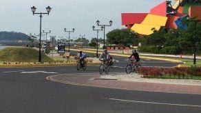 Ciclovía llega hasta la Calzada de Amador con préstamos de bicicletas