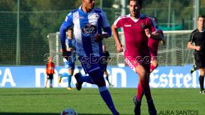 Ismael Diaz con otra asistencia en empate del Fabril
