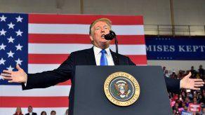Trump visitará mañana Florida y Georgia tras el paso del huracán Michael