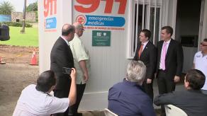 Sume 911 inaugura puesto de control de emergencias en Panamá Pacífico