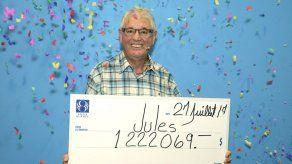 Hombre de Quebec gana la lotería por segunda vez en 9 años