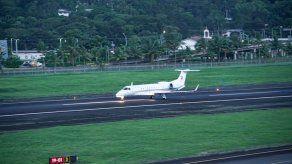 Avión presidencial retorna a Panamá tras mantenimiento en taller de EEUU