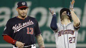 Serie Mundial: Altuve y Astros reaccionan en la capital
