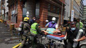 Una explosión sacude sede de la Fiscalía en la ciudad colombiana de Cali