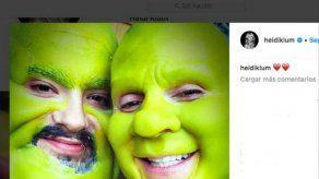 Heidi Klum contagia a su novio Tom Kaulitz su pasión por Halloween