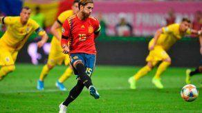 España gana en Rumanía y sigue su paso firme hacia la Eurocopa