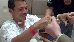 Camarógrafo Luis Casis ya salió de cuidados intensivos