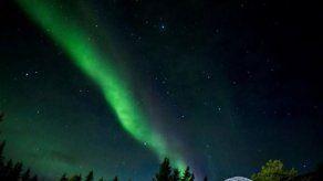 Alex Medela presencia una Aurora Boreal en Islandia