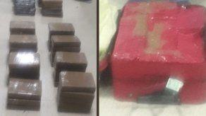En plena terminal de Albrook capturan a una persona con dos maletines cargados de droga