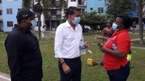 Realizan operativo de limpieza y recolección de enseres en Curundú
