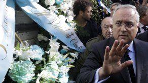 Presidente de Lazio promete combatir el antisemitismo