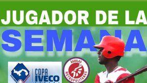Dominicano Pedro Ciriaco es el jugador de la semana en Probeis