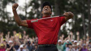 Acaba sequía; Tiger Woods gana el Masters