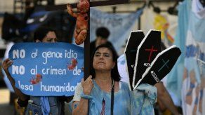 Sectores antiaborto se manifiestan en Argentina
