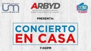 Artistas panameños darán Concierto en Casa este viernes por una buena causa