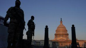 Extenderán presencia de Guardia Nacional en Capitolio