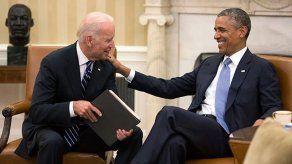 Obama no podría estar más orgulloso de Biden