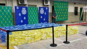 Decomisadas en España cuatro toneladas de cocaína en operación internacional
