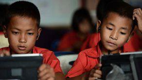 Cada vez más niños estadounidenses juegan con tabletas