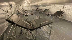 Tres hospitales de campaña son donados por EEUU a Panamá para combatir la COVID-19