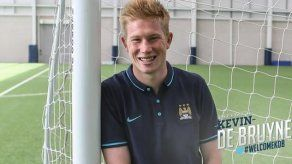 De Bruyne firma seis años por el Manchester City
