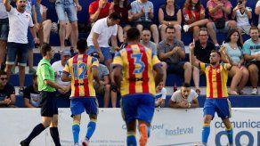 Alcácer da la victoria al Valencia ante el PSV Eindhoven