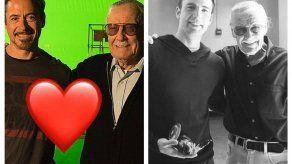 Las primeras reacciones de los famosos tras muerte de Stan Lee
